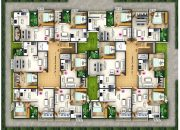 1 BHK Apartment floor plan for sale of RR All Seasons