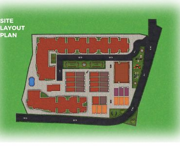1 BHK apartment & 3 BHK villas for sale site plan of RR All Seasons
