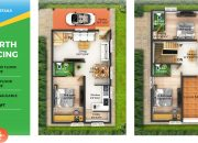 3 BHK Gated Community Villas in Coimbatore type L2, M8 North facing