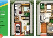 3 BHK Gated Community Villas in Coimbatore type L3, M5 North facing