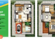 3 BHK Gated Community Villas in Coimbatore type N2 West facing
