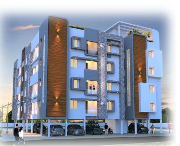 1 BHK apartment for sale elevation of RR All Seasons