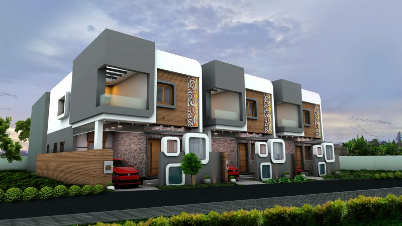 Real Estate Builders RR Housing offers RR All Seasons 3 BHK House in Coimbatore