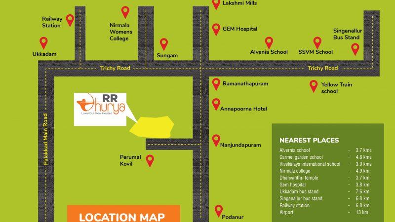 Location Map of RR Dhurya