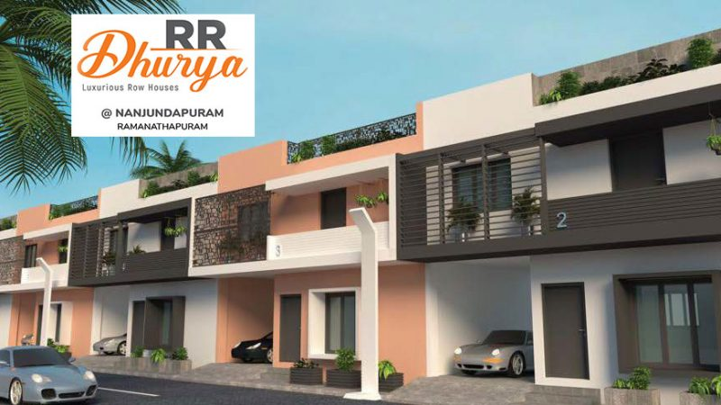 Lateral Side View of RR Dhurya House Type 3