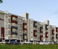 luxury flats in coimbatore RR Swara Side Elevation