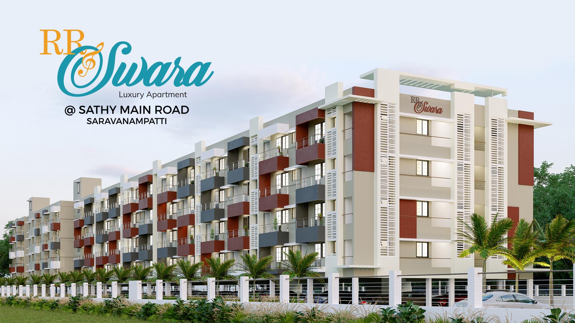 RR Swara Luxury Apt Saravanampatti
